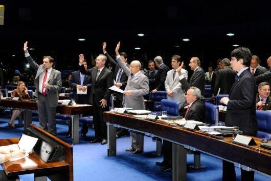 Geral do Plenário durante a Ordem do Dia.