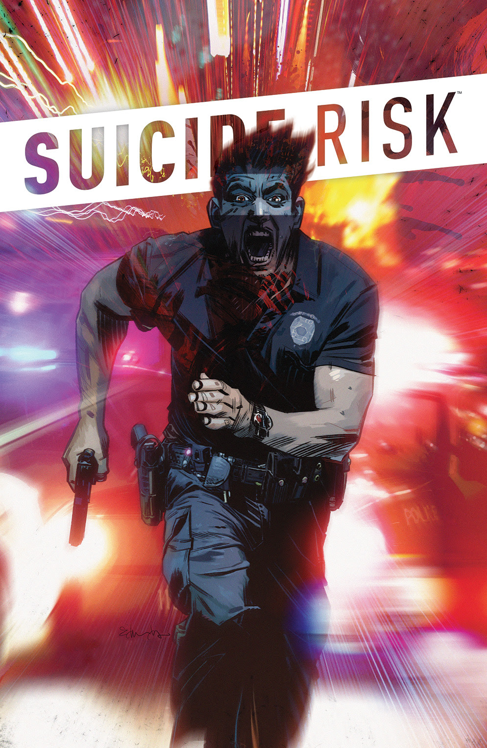 SUICIDE RISK VOL. 3 TP Cover by Tommy Lee Edwards