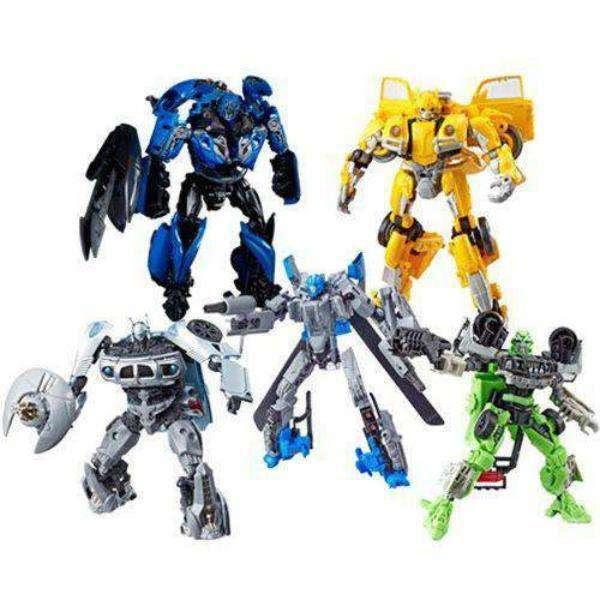 Image of Transformers Studio Series Premier Deluxe Wave 4 - Complete Set of Five