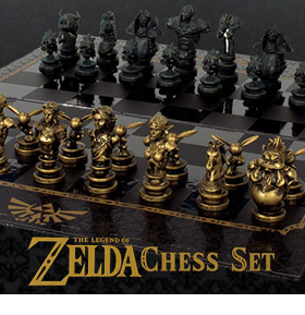 LEGEND OF ZELDA CHESS COLLECTOR'S SET