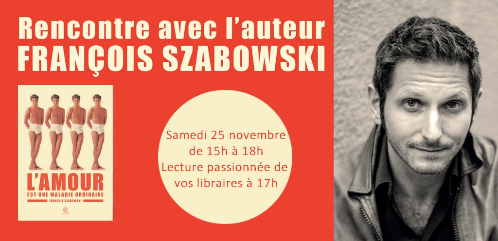 Au Temps rencontrer François Szabowski