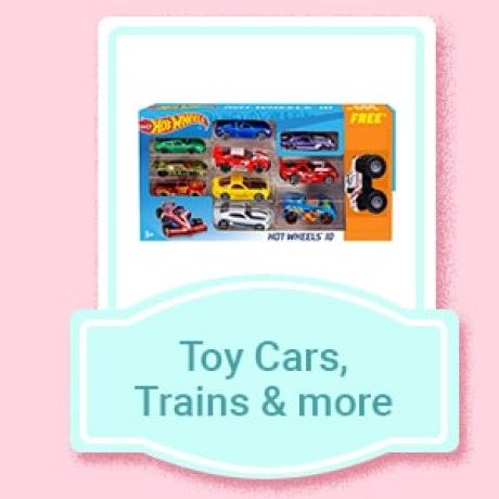 Toy Cars, Trains & more