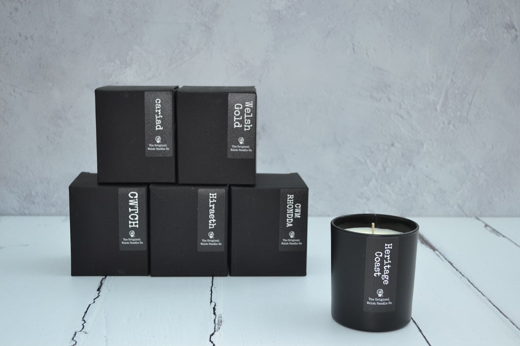 Image of Hand Poured Candles - Glass