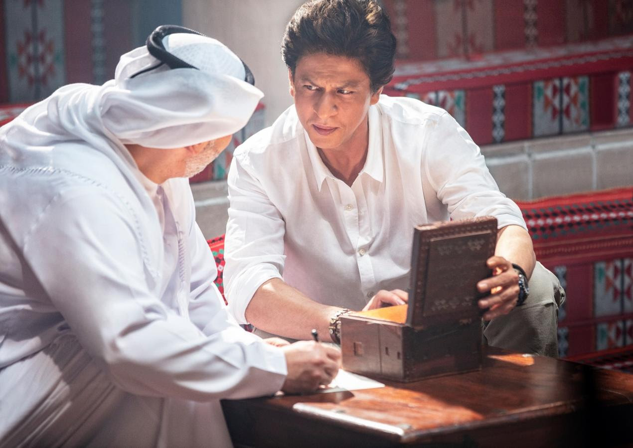 SRK on the hunt for treasures