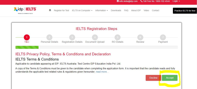 ielts registration 2020 8