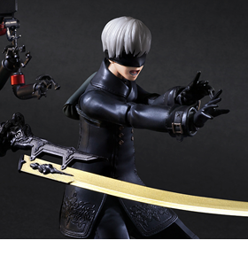 NieR: Automata Play Arts Kai 9S (YoRHa No.9 Type S) Deluxe Version
