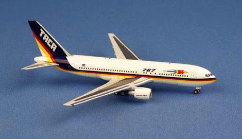 Boeing 767-200 TACA N767TA | is due: August 2019