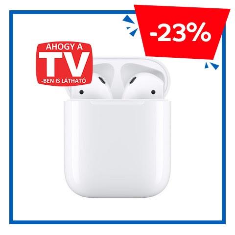 Őrült akciók - Apple AirPods2 vezeték nélküli gyári fülhallgató