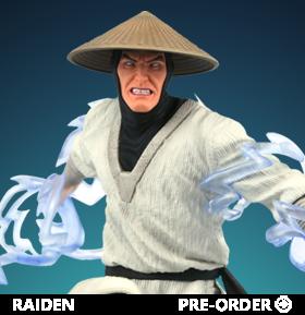 Mortal Kombat Gallery Raiden Figure