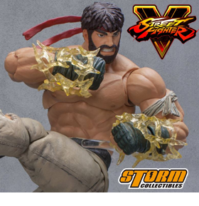 SDCC EXCLUSIVE STREET FIGHTER HOT RYU 1/12 SCALE FIGURE