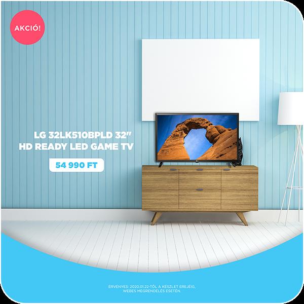 "LG 32LK510BPLD 32"" HD Ready LED Game TV"