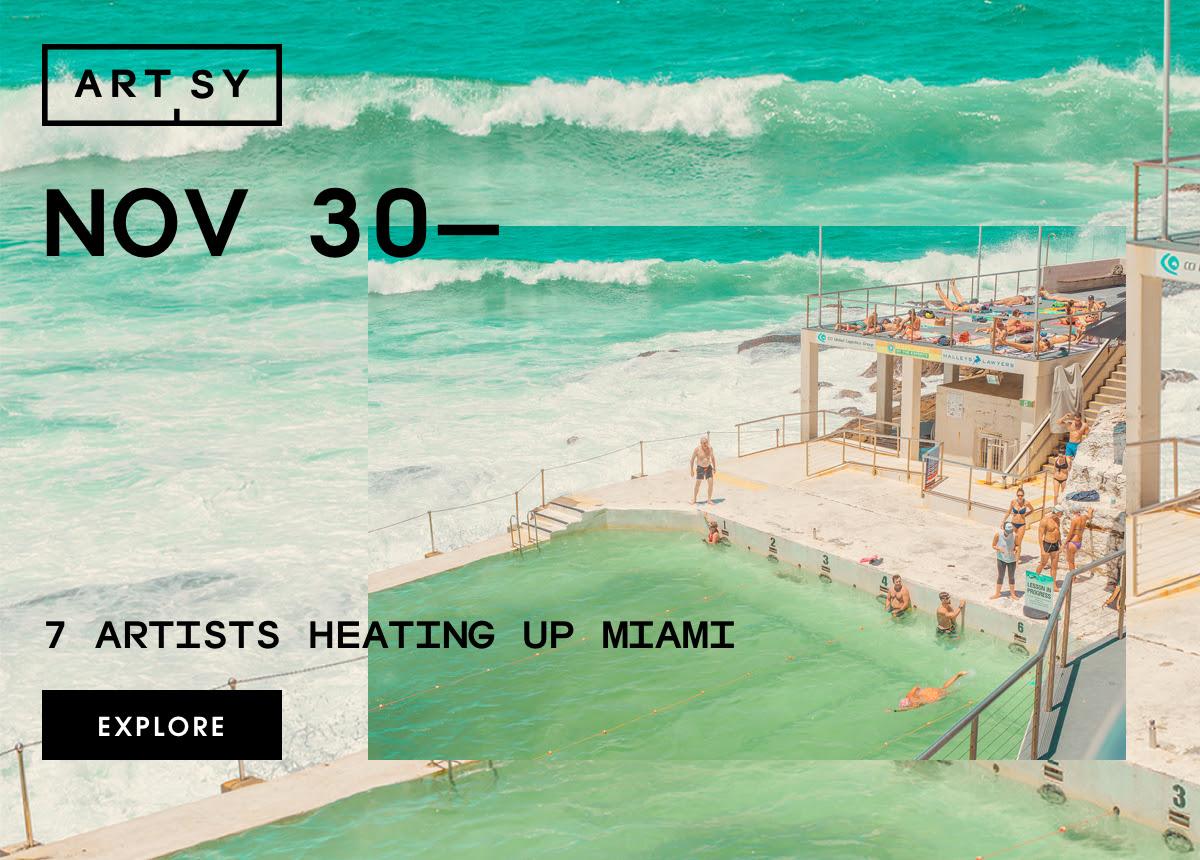 7 artistas para fazer você se entusiasmar com as feiras de Miami