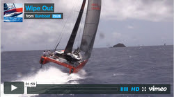 Gunboat G40 sailng St Barth