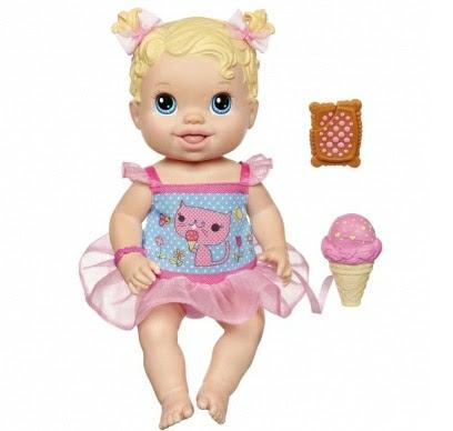 Boneca Baby Alive Hasbro Sorvetinho A1694