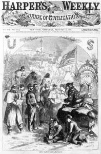 Papai-Noel-em-1863-na-revista-Harpers