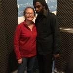 Laura & Rob at Croydon Radio
