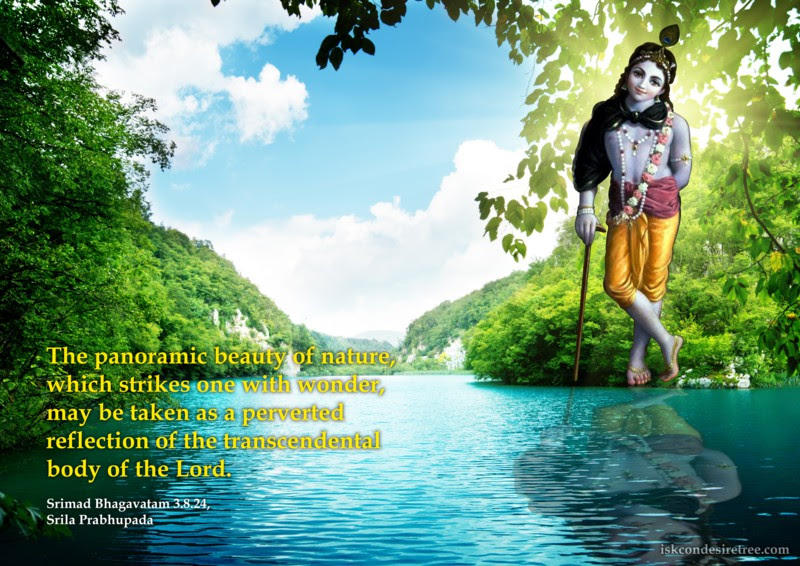 Srila Prabhupada on Panoramic Beauty of Nature