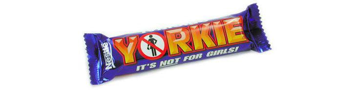 Nestle Yorkie Bar: It\'s Not for Girls!