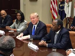 Image result for trump black history breakfast images