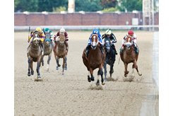 Mr. Money storms home to win the Matt Winn Stakes by 6 1/2 lengths at Churchill Downs