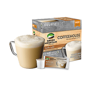 Green Mountain Coffeehouse Vanilla Latte Keurig Kcups