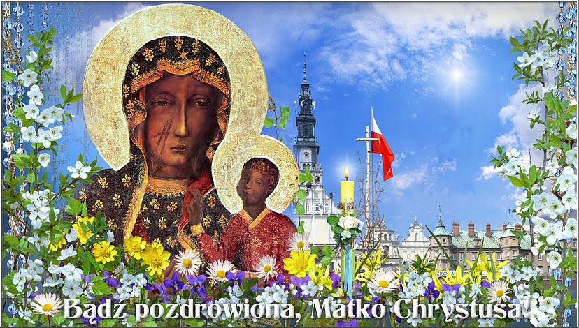 Znalezione obrazy dla zapytania Maryjo Królowo Polski módl się za nami