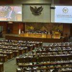 Le parlement indonésien en session le 28 juin 2016.