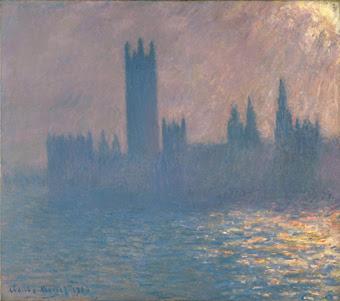 Claude Monet, Houses of Parliament, Sunlight Effect (1903).