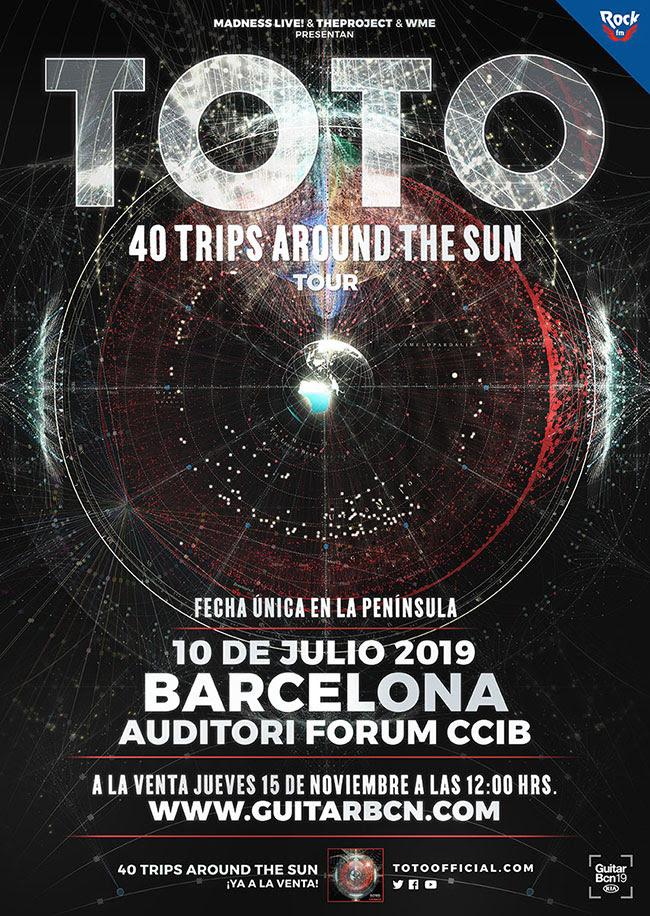 TOTO regresan en una esperadísima y exclusiva fecha este mes de julio de 2019
