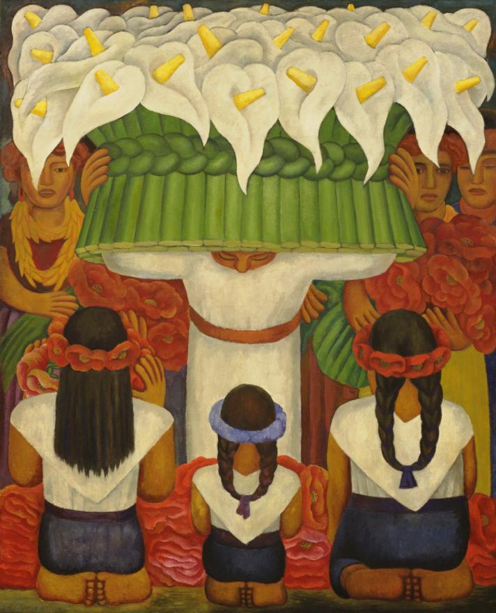 Diego Rivera, Flower Festival: Feast of Santa Anita, 1931.