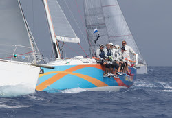 J/122 sailing St Barth