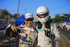 Kau Machado e Dante Fibra (Luciano Santos/SiGCom)