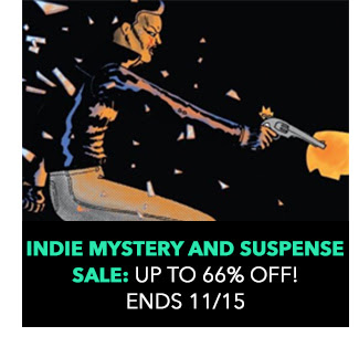 Indie Mystery and Suspense: up to 66% off! Sale ends 11/15.