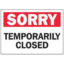 Range Temporarily Closed
