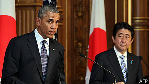 Obama reitera su apoyo a Japón en disputa territorial con China