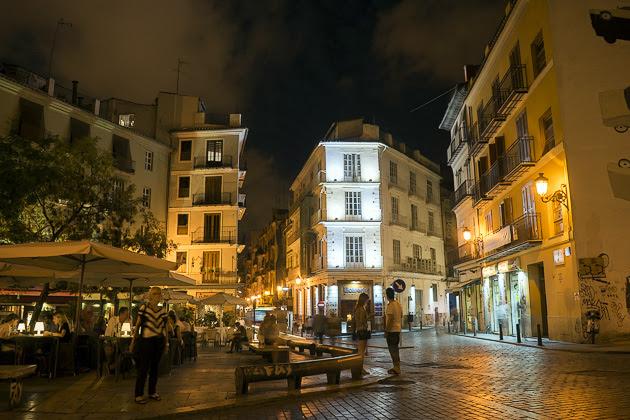 Valencia en la noche