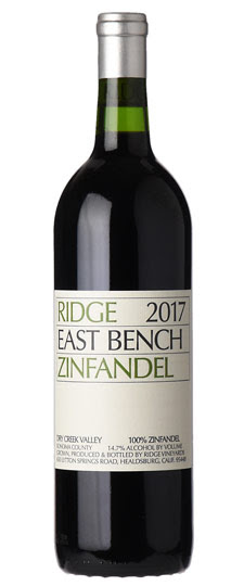 2017 Ridge Vineyards