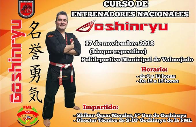 Curso Entrenadores Nacionales de Goshinryu