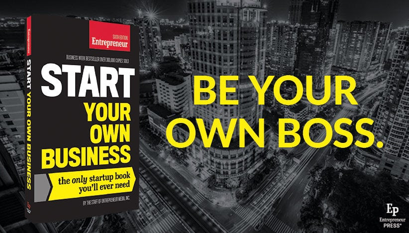 Limited-Time Kindle Offer: Buy Start Your Own Business for $3.99