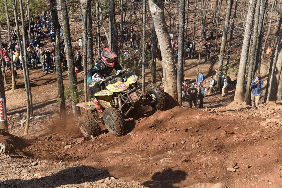 Chris Borich is hoping to cross the finish line first in South Carolina this weekend.