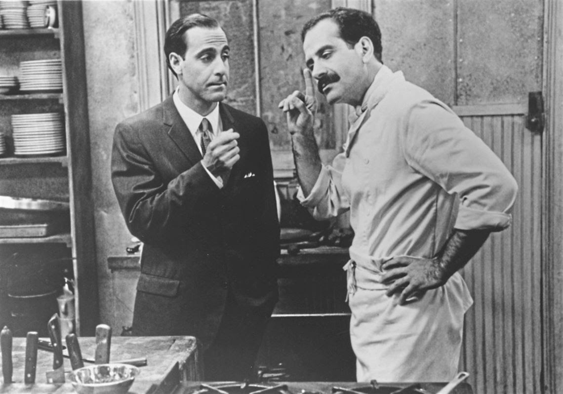 Stanley Tucci, left, and Tony Shalhoub star in