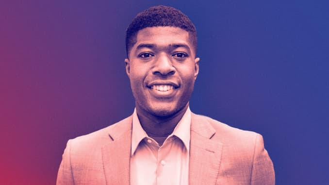 Noah Harris, o primeiro presidente do corpo estudantil negro de Harvard.
