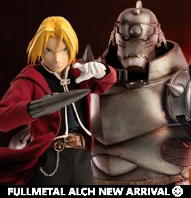 Fullmetal Alchemist: Brotherhood Edward & Alphonse Elric 1/6 Scale Figure Two-Pack