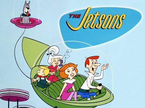 Image result for jetsons flying car