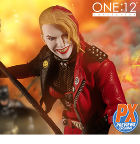 DC Comics One:12 Collective Harley Quinn (Playing For Keeps) PX Previews Exclusive