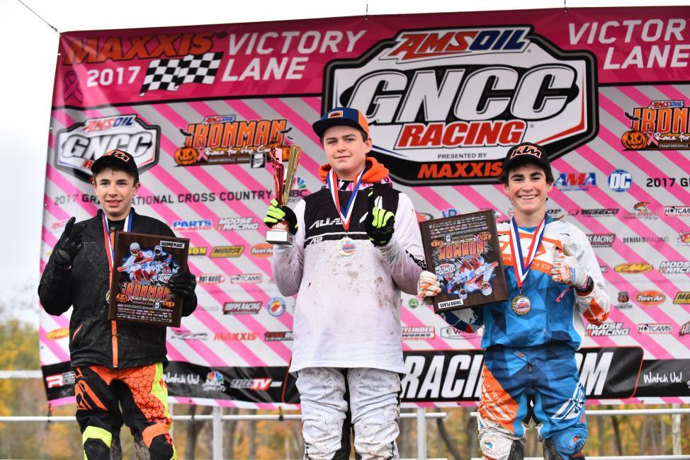 Youth Overall: (2) Ryder Leblond, (1) Michael Beeler Jr. (3) Max Fernandez.