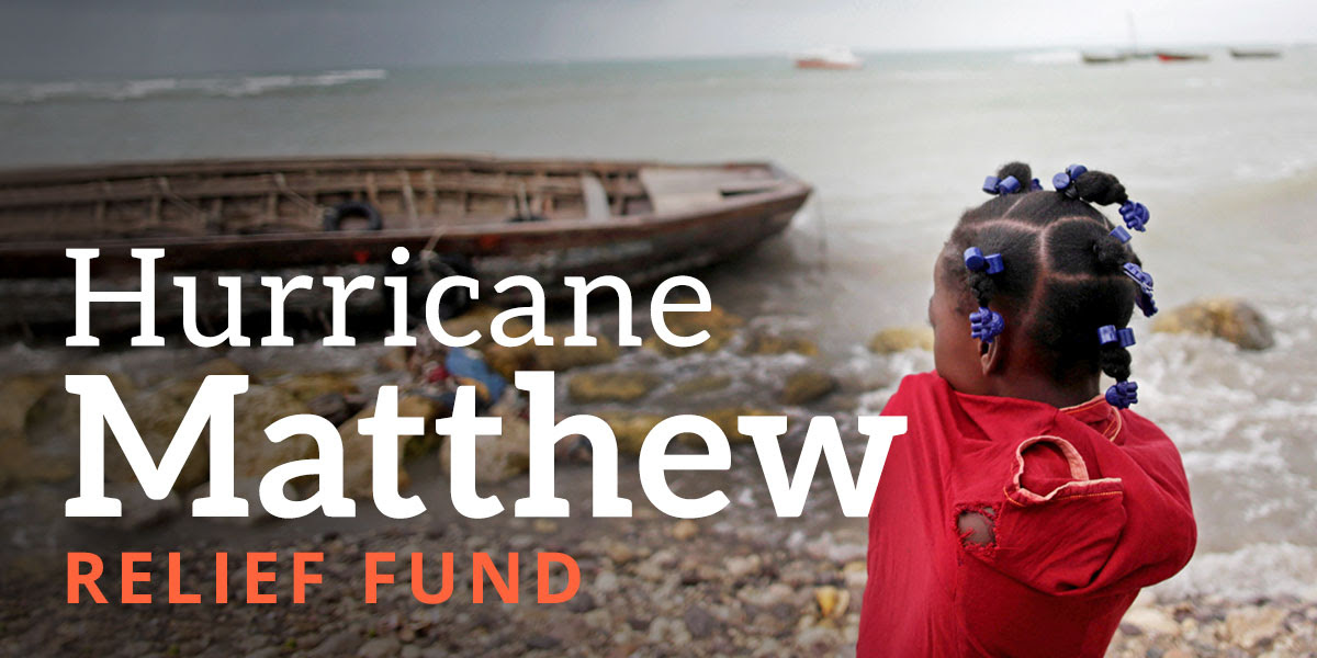 Hurricane Matthew Relief Fund
