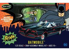 BATMAN CLASSIC BATMOBILE 1/25 SCALE MODEL KIT