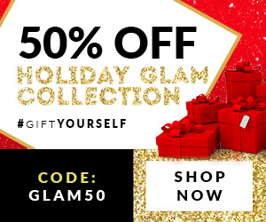 50% off Holiday Glam collectio...