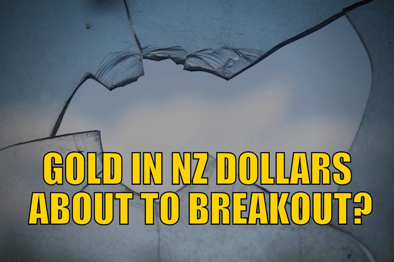 NZ Dollar Gold Breakout About to Happen?